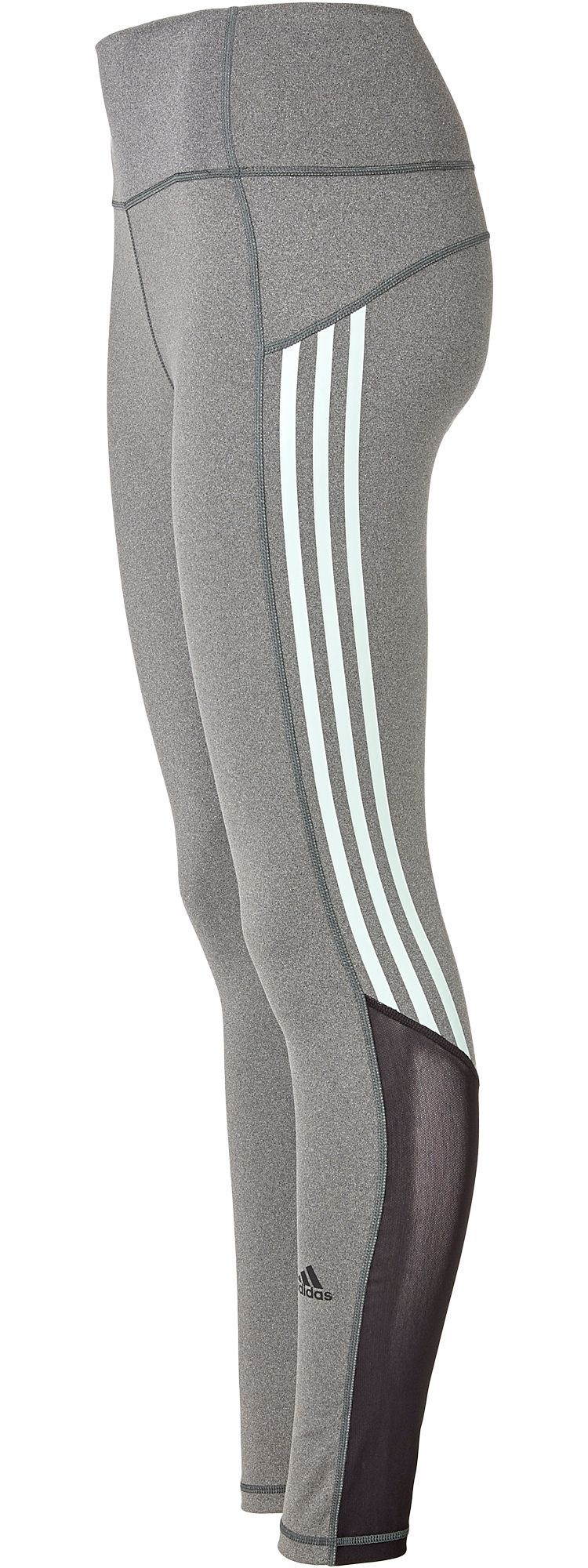 0da5eb23edb adidas Women's Believe This 3-Stripe 7/8 Training Tights, Size: Small,  Dgh/Ash Green