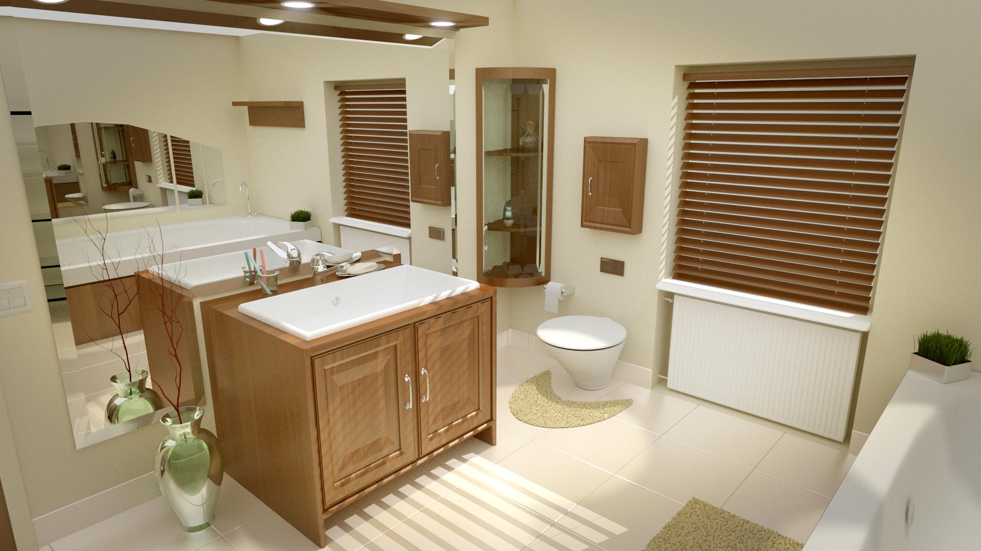 Architecture Modélisation Et Animation Blender D Dune Petite - Faire sa salle de bain en 3d