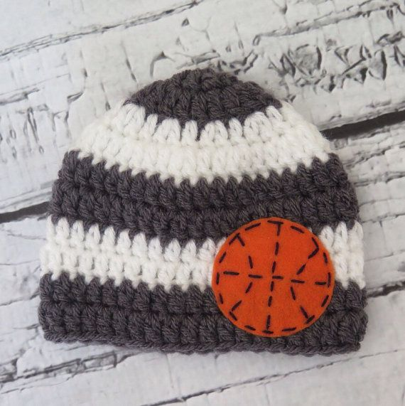Guitar Crochet Knit Boy Hat with Felt Appliqué - sizes Baby to Teen ...