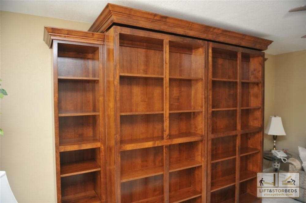 Murphy Library Beds For Your Home Lift Stor Beds Murphy Bed