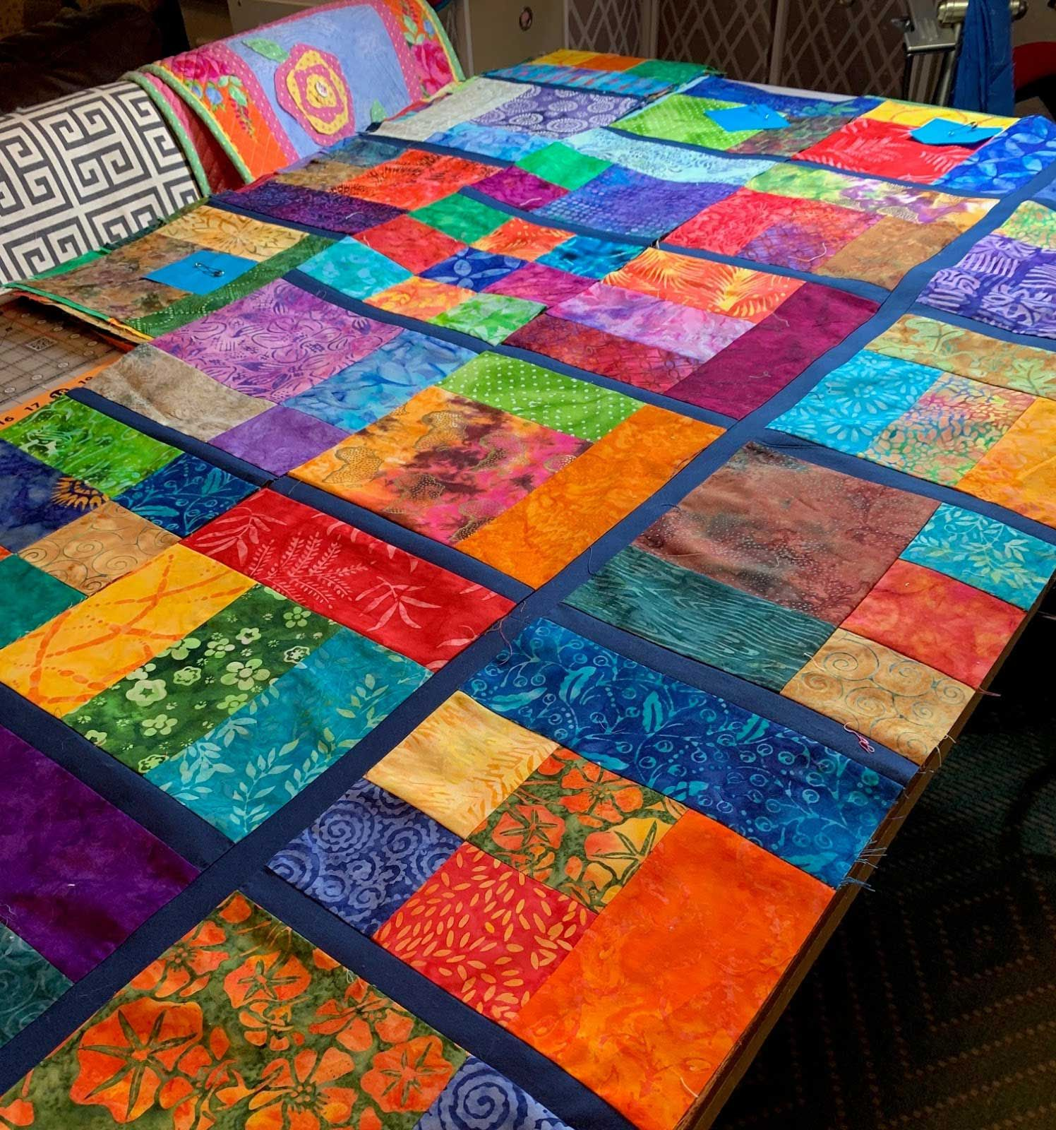 Gain 35 Magnificent Easy Batik Quilts Pattern Free In My