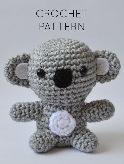 Crochet Pattern In English Koala Baby 3 Babies Collection