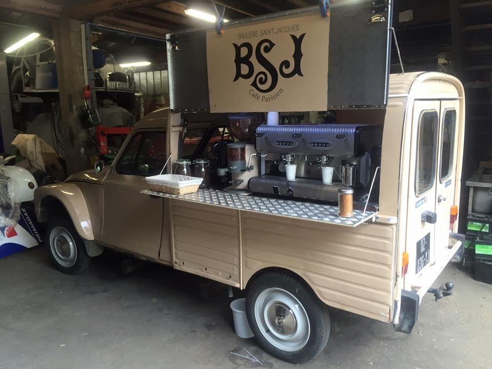 2cv fourgonnette food truck