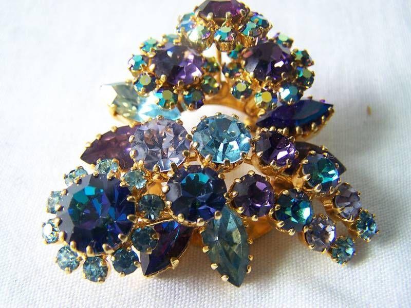 Crystal pin witchy pins enamel pin gold pin
