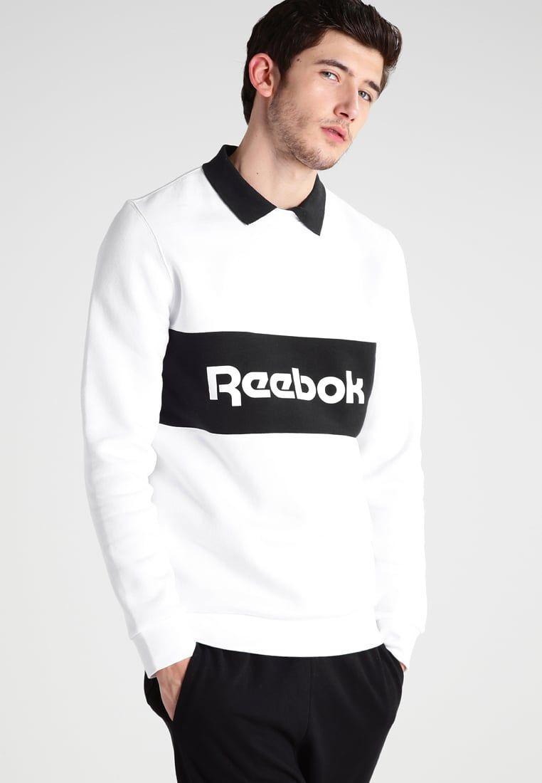Reebok Classic LONGER TEE - Camiseta print - white d5RKv