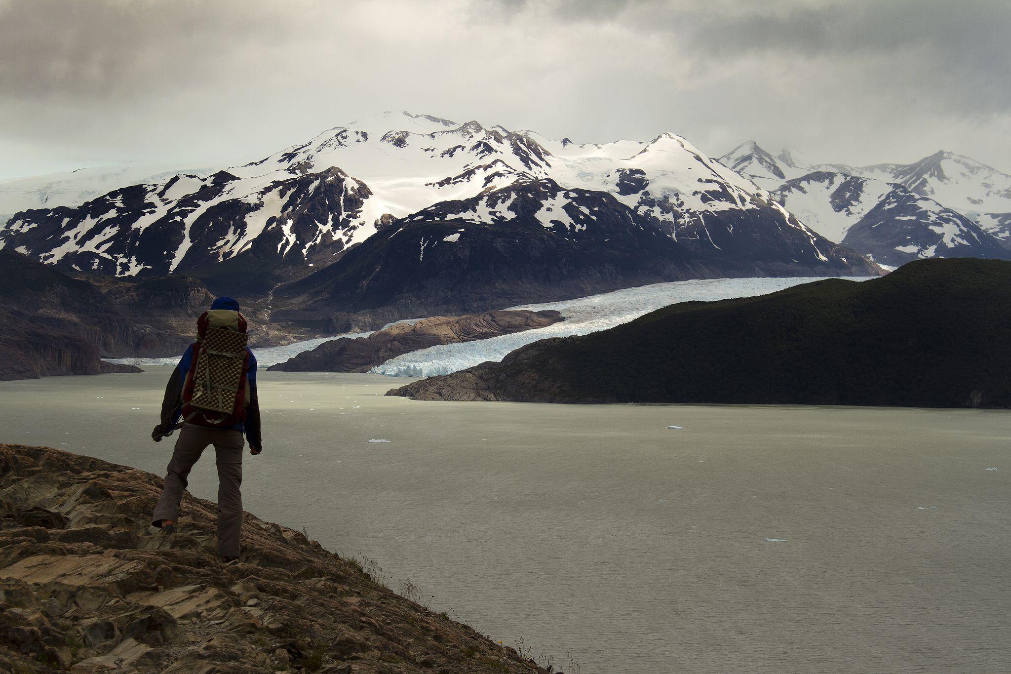 I am back Glaciar Grey
