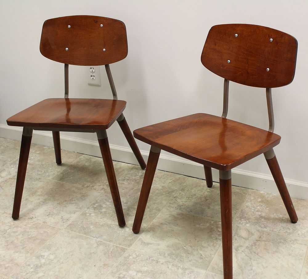 Mid Century Modern Industrial Pair Of Hill Rom Chairs Attr. Raymond Loewy  Retro # Pictures Gallery