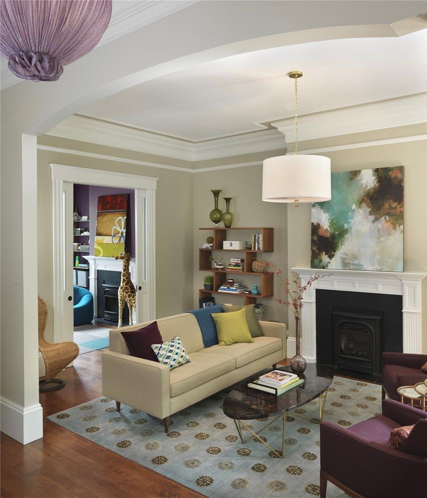 Decorating Historic Homes  Interiors Contemporary Home In Entrancing Living Room Boston Design Inspiration Design