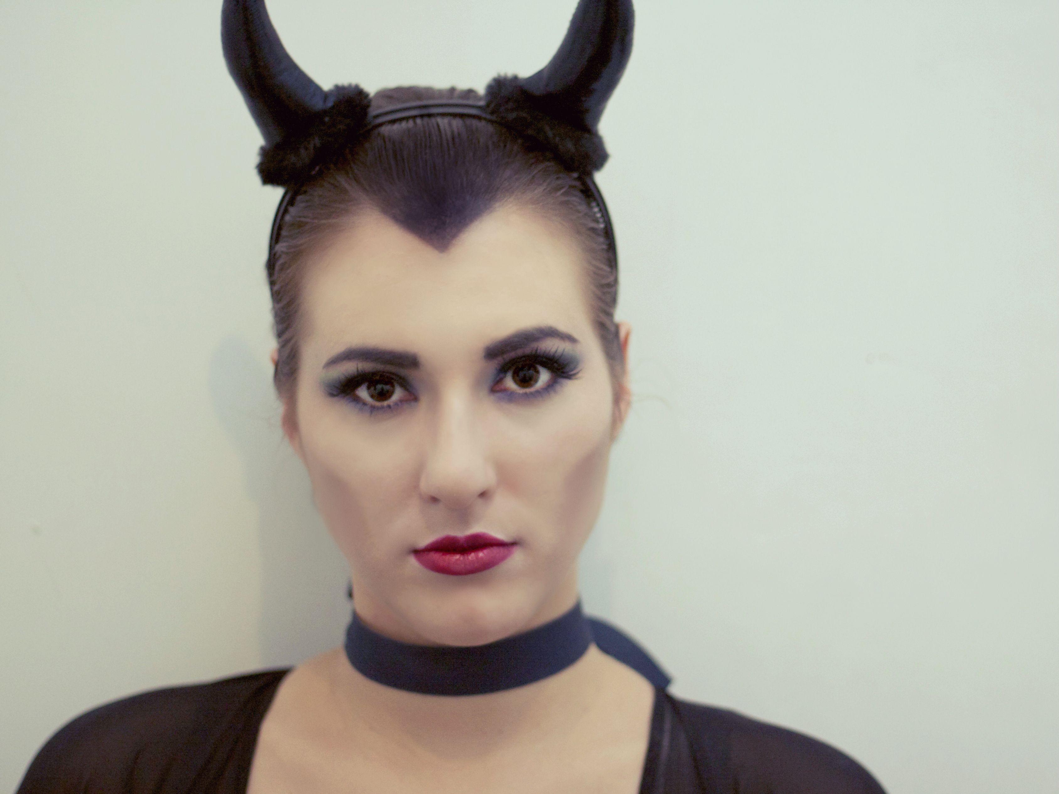 Maleficent for halloween. Mac Makeup Mac makeup, Makeup
