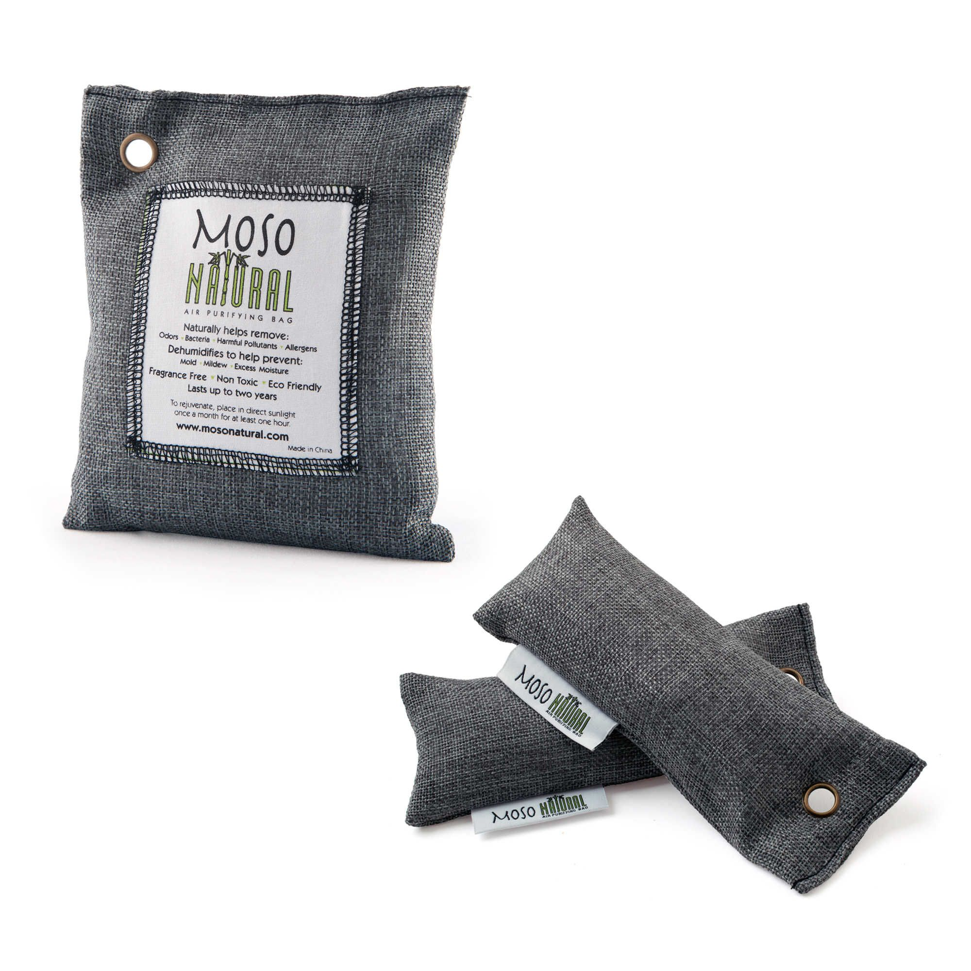 Moso Natural Air Purifying Bag not afraid to sweat