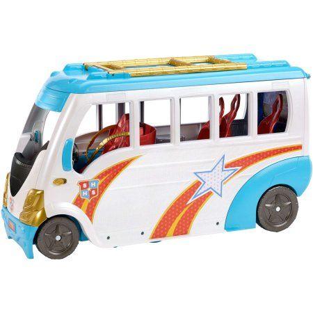 DC Super Hero Girls School Bus Vehicle - Walmart Birthday - walmart careers