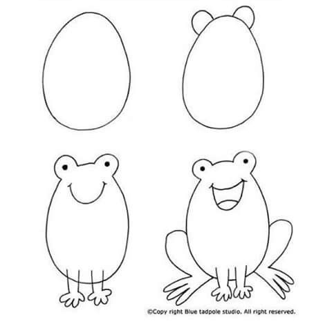 Pin De Spataro Anna En Vykrojki I Risunki Easy Drawing Tutorial Ilustracion Paso A Paso Dibujos Faciles Para Principiantes