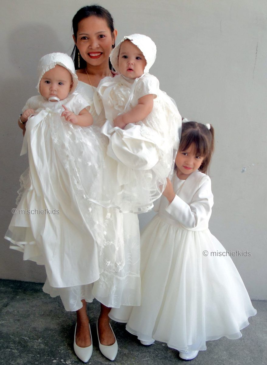Jacky Rose From The Philippines At The Christening Of Her