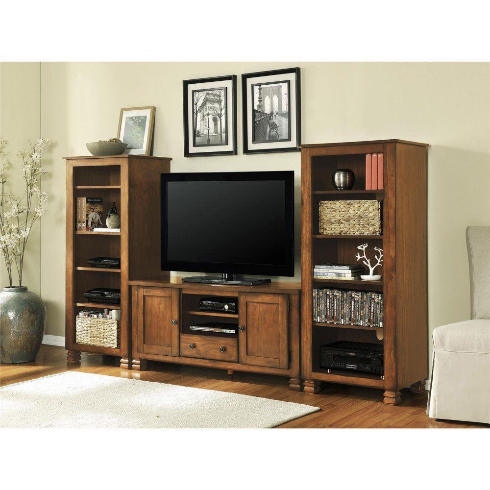 Ameriwood furniture rustic tv stand rustic tv stand