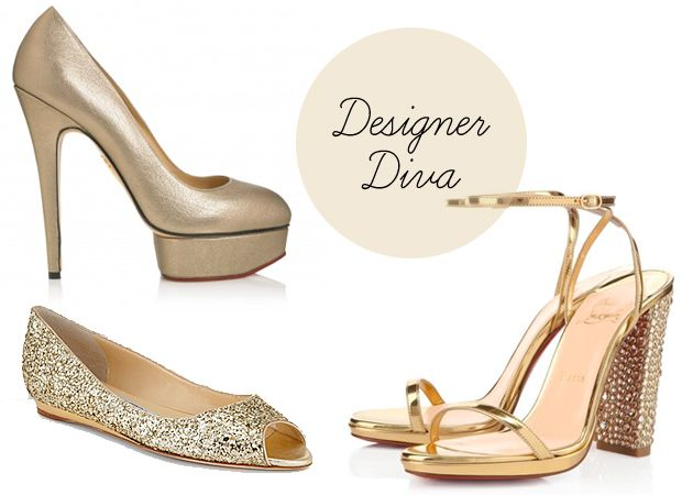 Merveilleux Gold Wedding Shoes   Shoes Fit For An Olympic Gold Medal Winner!