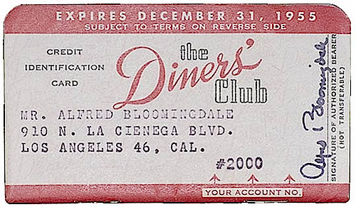 Diners Club Memberships Remember All The Restaurants Who Displayed The Diners Club Sign And Usually It Meant You Got 10 15 Off Your Meal Tab If You Were A
