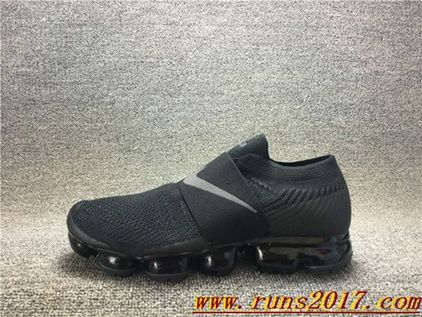 Nike Air VaporMax Flyknit MOC Black Men | Discount Nikes | Pinterest |  Black man, Air max and Nike running