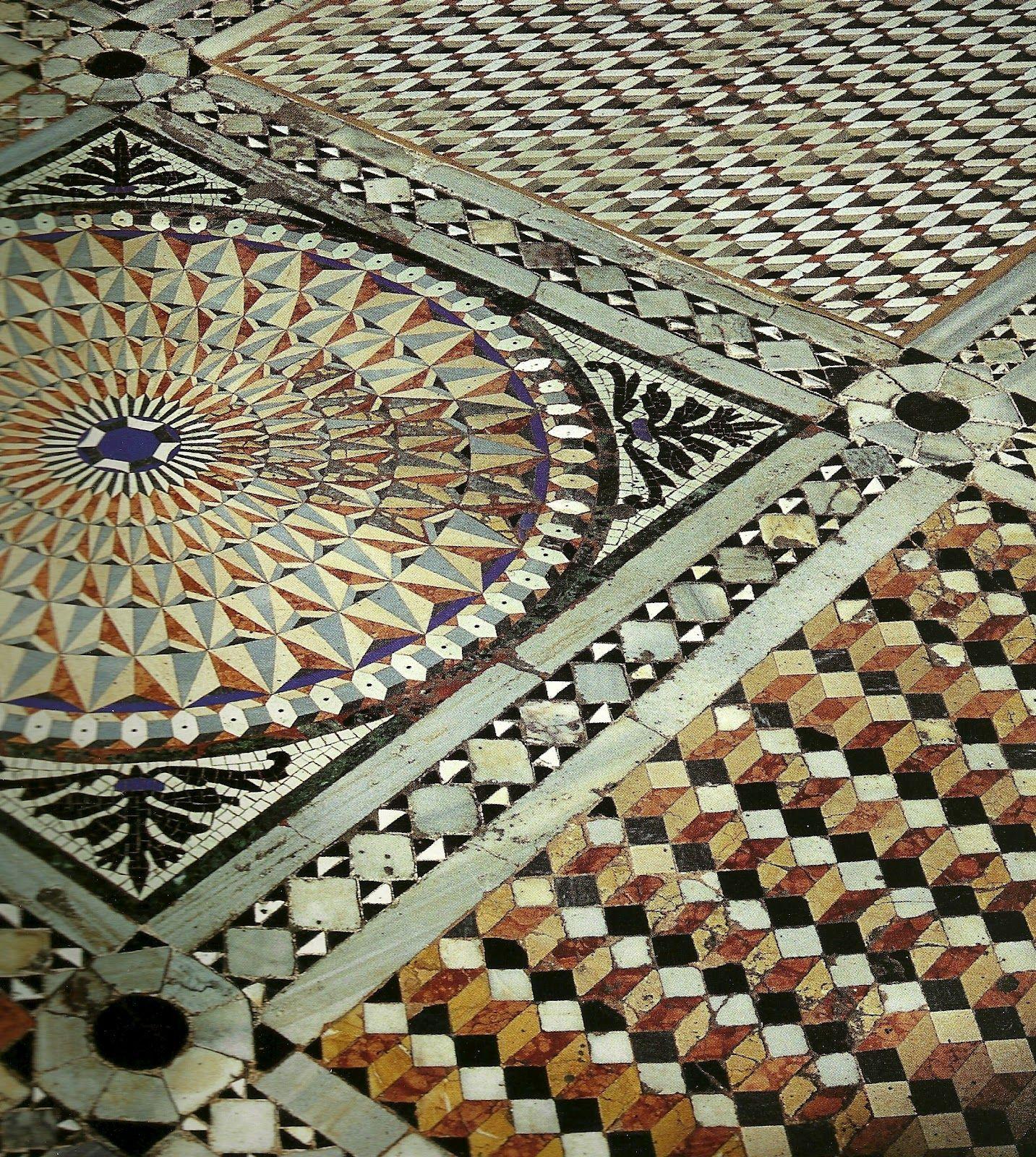 i pavimenti di san marco a venezia - pavimento detto:opus sectile ...