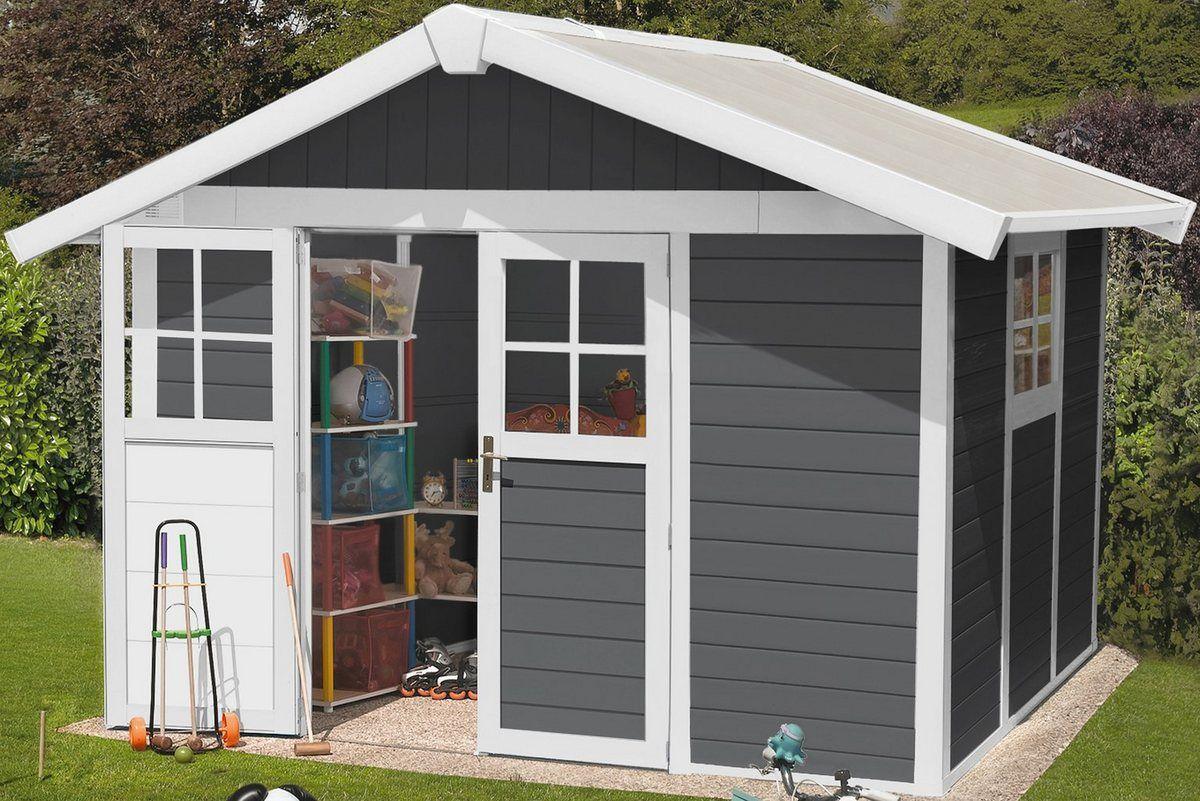 Kunststoffhaus »Deco H 7,5«, BxT 315x239 cm, in 2 Farben
