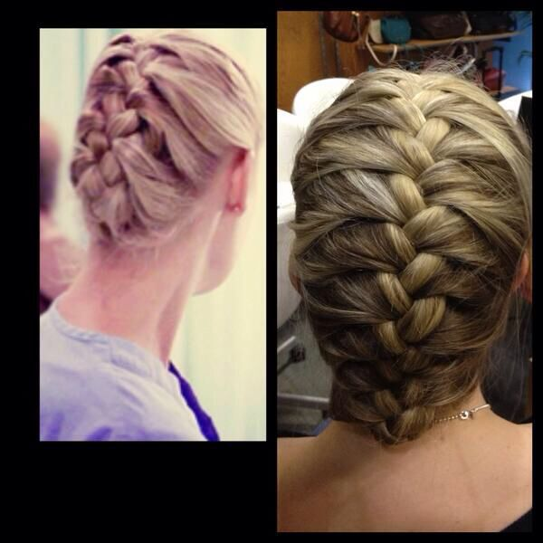 Pin By Maddy Conklin On Hair Nurse Hairstyles Long Hair Do French Braids Tutorial