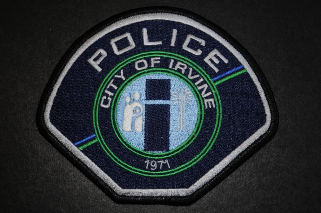 Irvine Police Department Police Patches Police Police Badge
