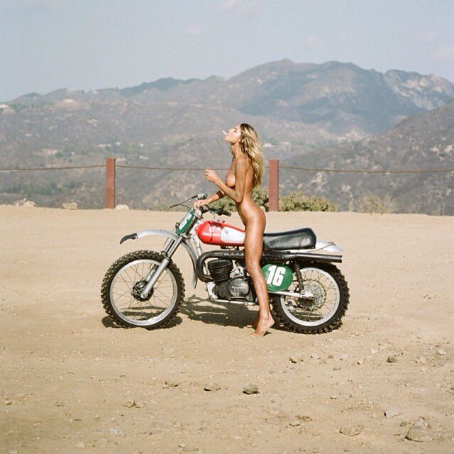 Naked Women On Dirt Bikes