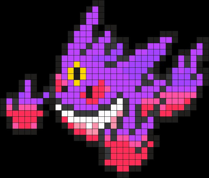 mega gengar pixel art