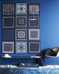 blue interior design