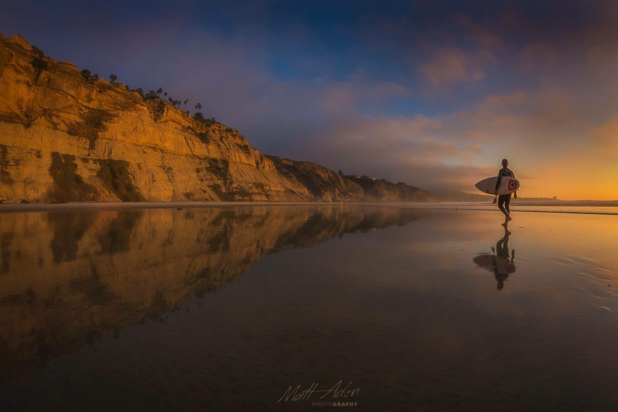 Pin by Tom Young on San Diego Sunset surf, Sunrise beach