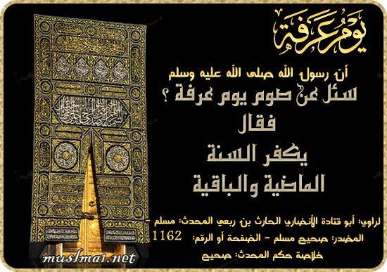 صيام يوم عرفه فيه أجر كبير Holy Quran Islamic Pictures Online Quran