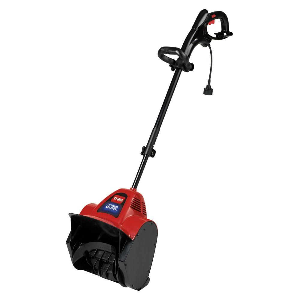 Toro Power Shovel 12 In 7 5 Amp Electric Snow Blower 38361 Electric Snow Blower Electric Snow Shovel Landscaping Around Trees