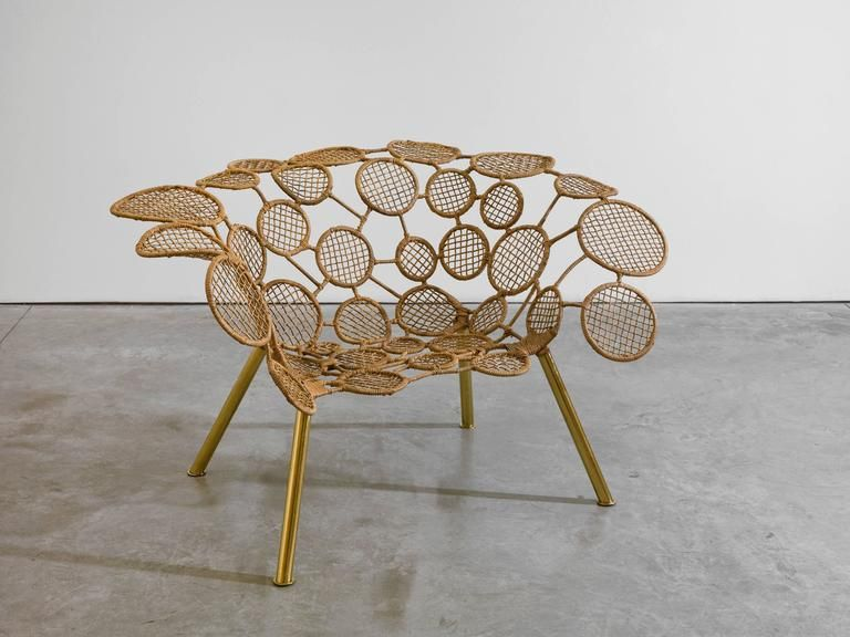 Brazilian Fernando And Humberto Campana   Racket Chair (Circles)