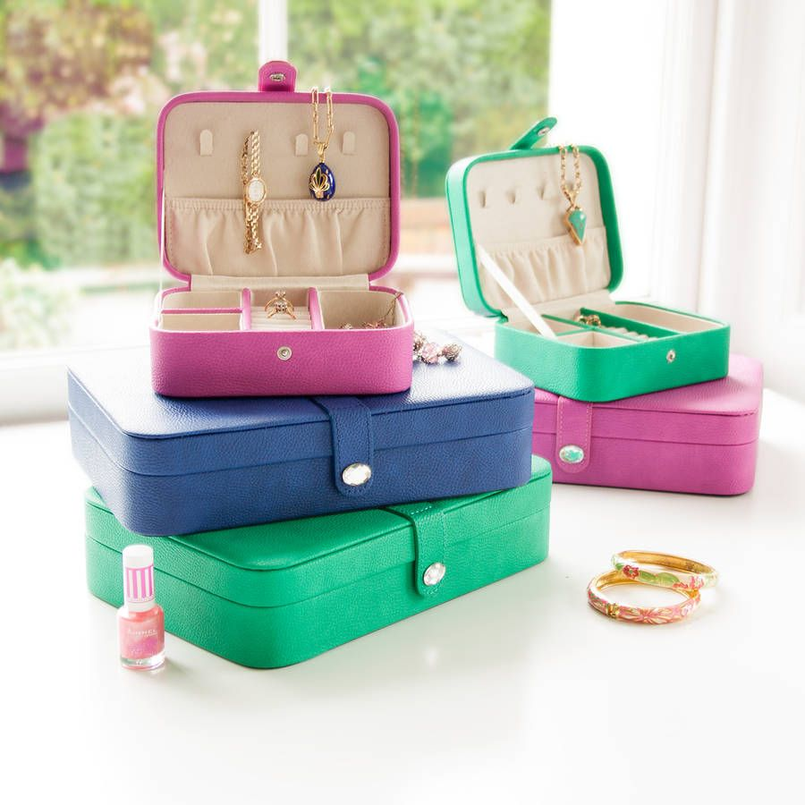 Travel Jewellery Box Travel jewelry box Travel jewelry and Box