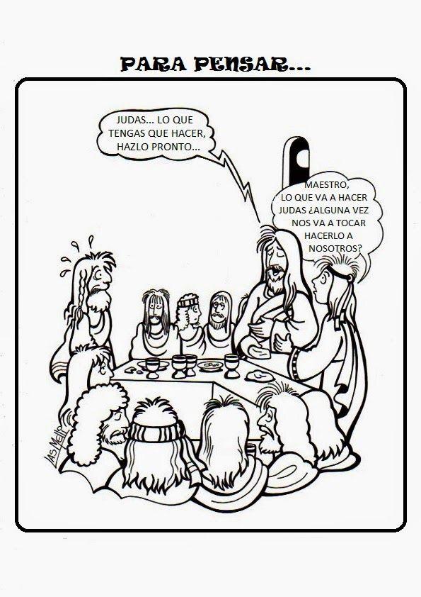 La Catequesis: Recursos Catequesis Jueves Santo | iglesia ...