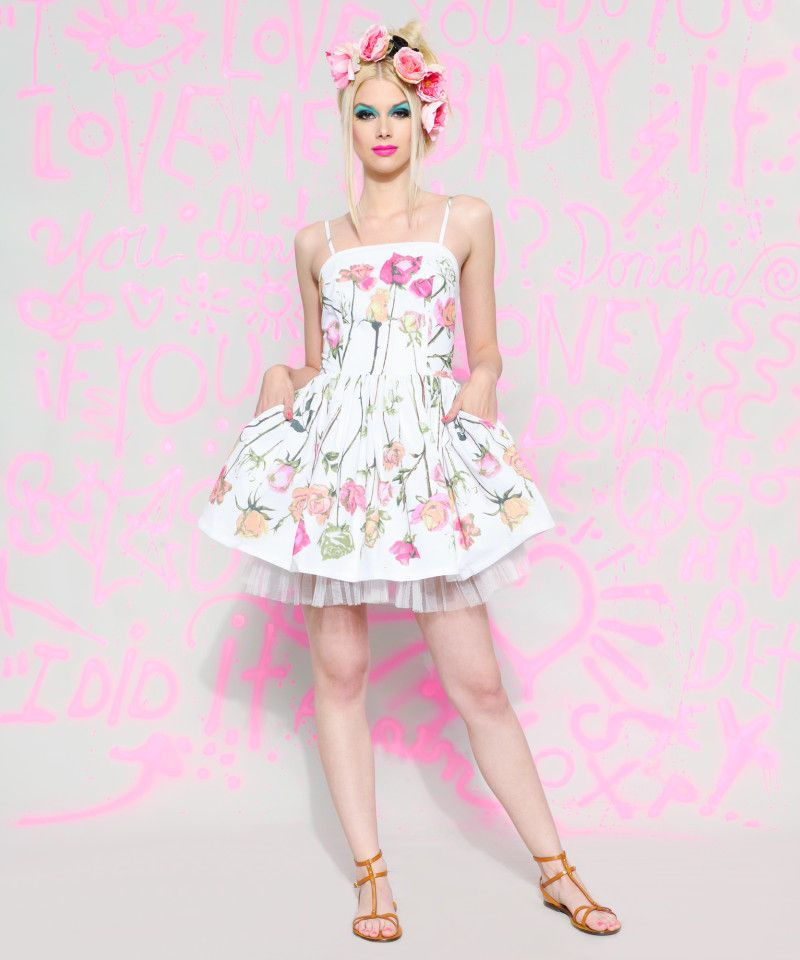How fun is this ENTIRE LOOK!!!! TEA PARTY DRESS - Betsey Johnson ...