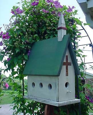 country church birdhouse plans instructions 781 birdhouses bird rh pinterest com