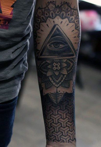 Top 100 Best Sacred Geometry Tattoo Designs For Men Sleeve Tattoos