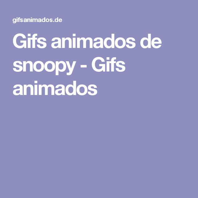 Gifs animados de snoopy - Gifs animados