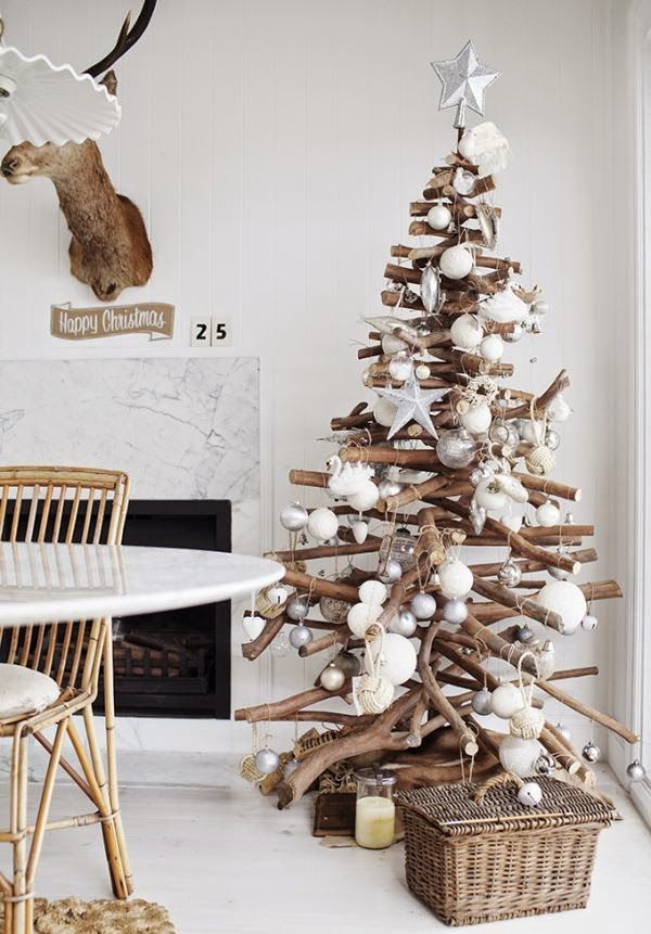 50 Χριστουγεννιάτικες διακοσμήσεις με κλαδιά! Ideas for the House