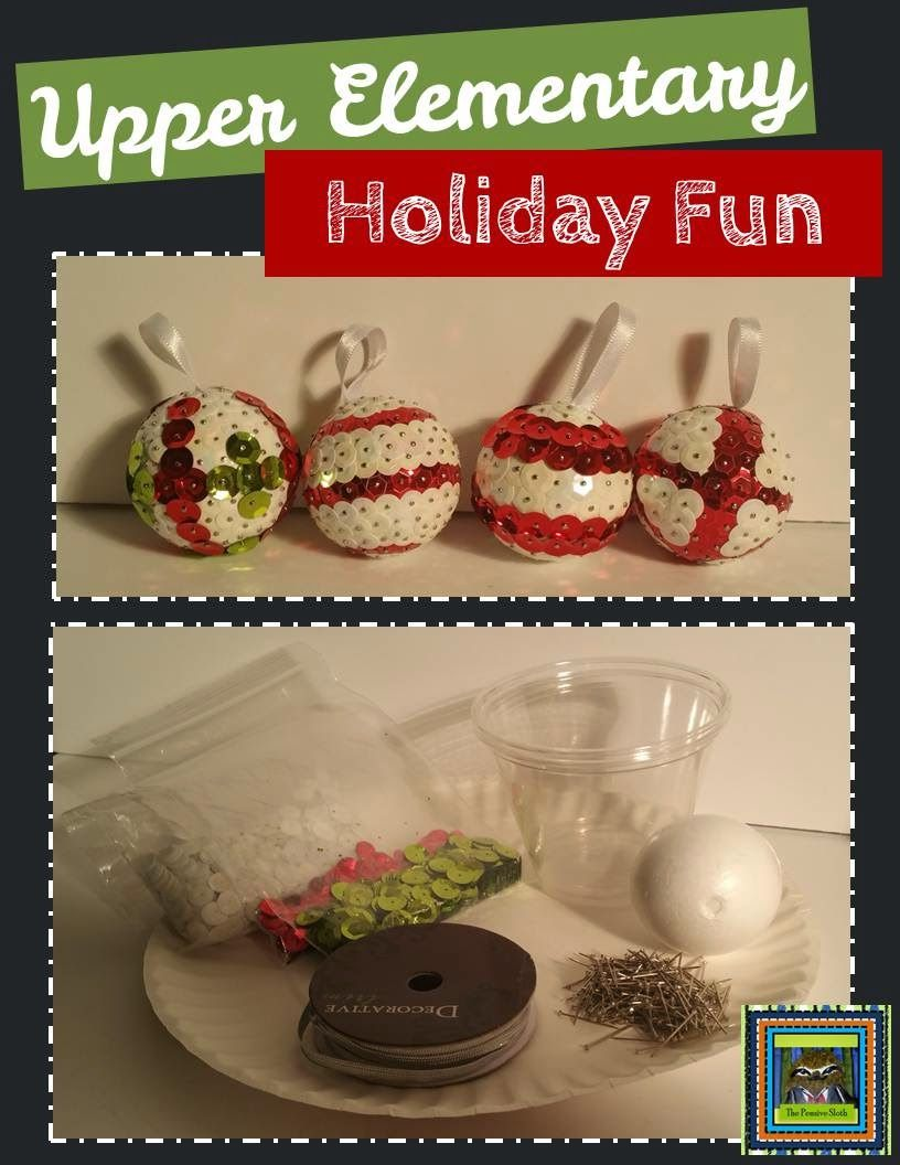 Exceptional Christmas Craft Ideas For 5th Graders Part - 14: A Christmas Craft For The Classroom--Lesson Deli: Upper Elementary Holiday  Fun-
