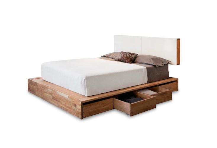 Charming LAX Platform Bed W/ Storage