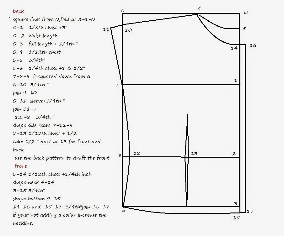 Drafting Blouse With Kimono Sleeves Sewing Shirts Dress Sewing
