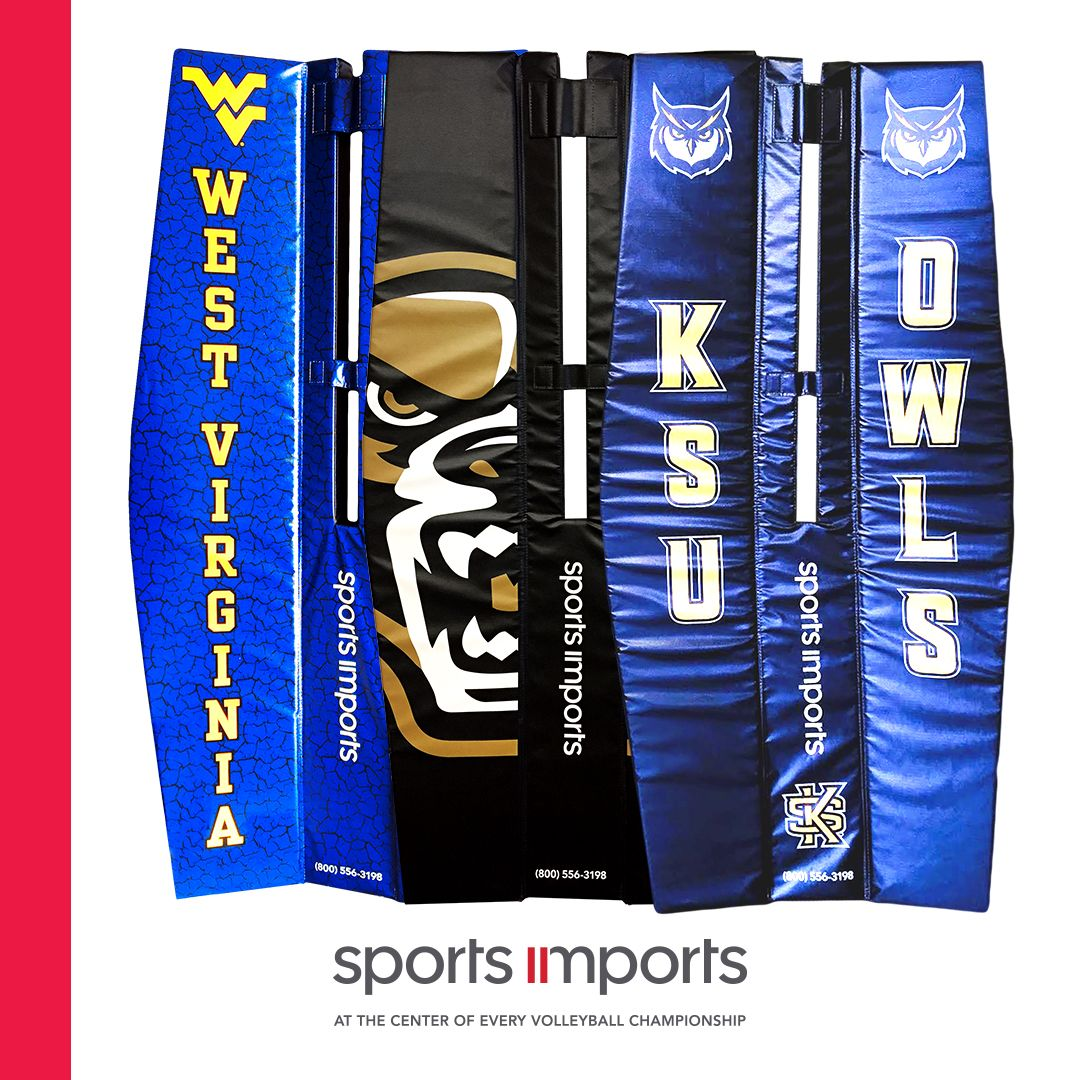 Custom Volleyball Pole Pads By Sports Imports Volleyball Pole Volleyball Net