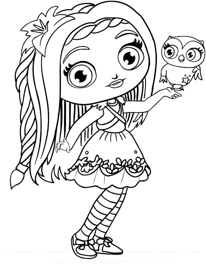 Posie Little Charmers Coloring Pages To Print Nick Jr Coloring Pages Puppy Coloring Pages Coloring Pages