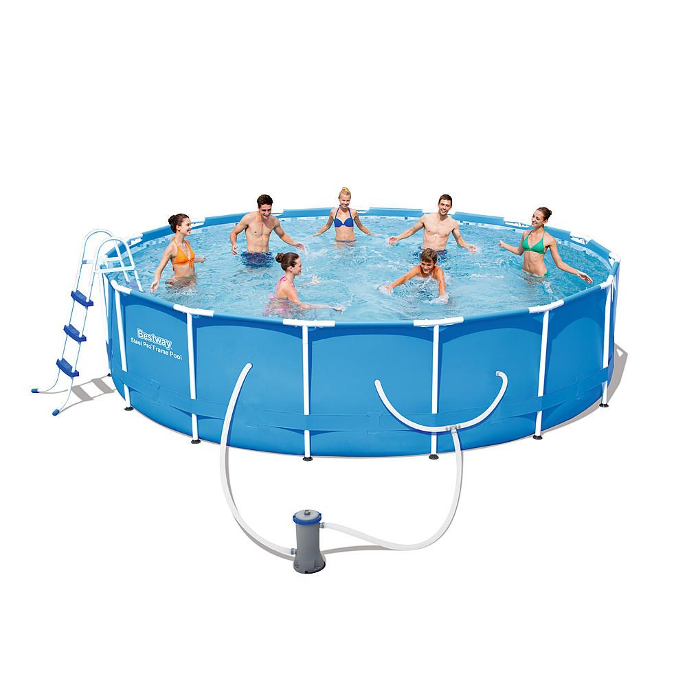 Bestway 14 X 42 Steel Pro Frame Pool Set Toys Games Swimming Pools Accessories Swimming Pools Swimming Pool Sales Bestway Best Above Ground Pool