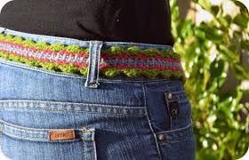 Resultado de imagen para cinturones crochet patrones