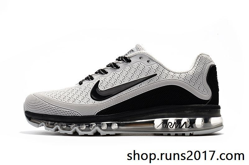sale retailer 40f0f af984 New Coming Nike Air Max 2017.8 KPU Black Gray Tick Men