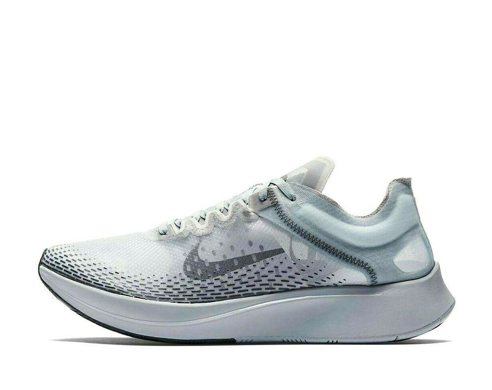 Nike Zoom Fly Sp Fast Running Shoes Mens 10 5 At5242 440 Obsidian Mist Nike Casual In 2020 Running Shoes For Men Nike Shoes For Sale Running Shoes
