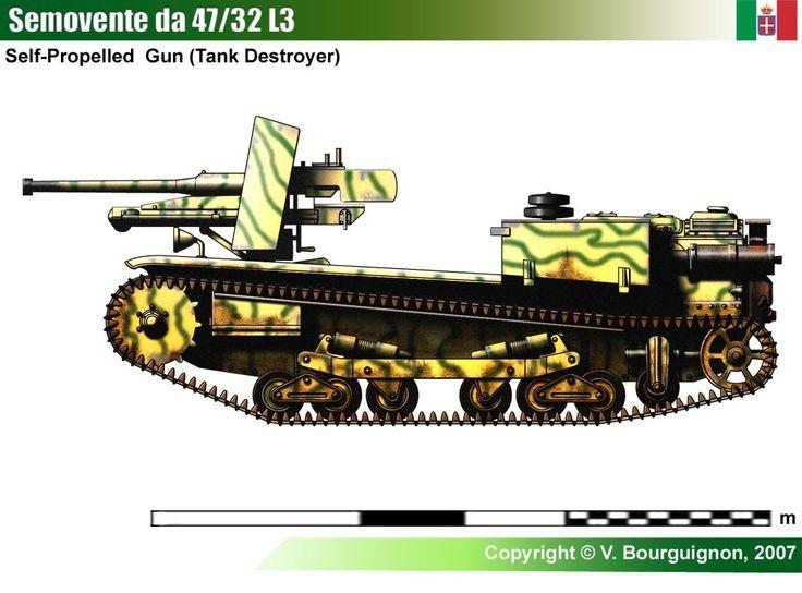 Semovente l3 da 4732 ww ii italy military land vehicles semovente l3 da 4732 ww ii italy military land vehicles pinterest sciox Images