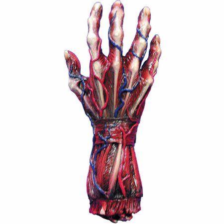 Skinned Right Hand Halloween Decoration, Multicolor Walmart and - halloween decorations at walmart